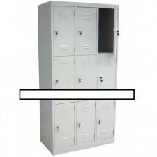 全新九門儲物鋼櫃 #C-DB012