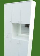 全新組合鞋櫃(4種格式)白,胡桃色w319
