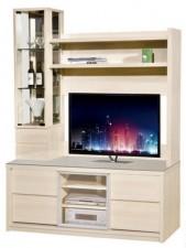 廠家直銷 全新 新款 玻璃組合柜  60.3*16*80'' #HH-383-308+307 (包送貨及安裝)