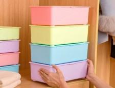 全新儲物盒   (35.5*21*8.5CM)  4種顏色w4883