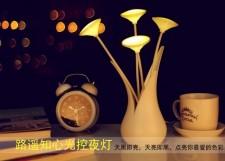 全新燈   (8.5*8.5*26CM)  3種顏色w4775