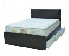 廠家直銷 全新 單人床/雙人床 4尺半 # 208-78 (包送貨及安裝)