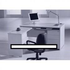 全新 高級寫字檯+活動三斗櫃桶+獨立吊側檯+側檯吊二斗櫃桶+膠鍵盤架 ##C-AC021