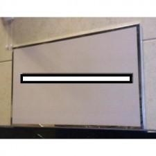全新鏡鋼框單面白磁板(20MM厚)  #B-FC003