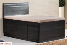 廠家直銷 全新 3尺至4尺半 雙人床 #B1-3672D (包送貨及安裝)