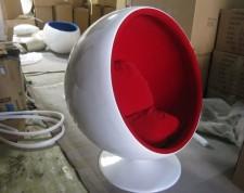 全新休閑沙發  (100*100*120cm)紅色w1074