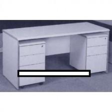 全新 高級寫字檯+2個活動三斗櫃桶(404Wx460Dx640Hmm) ##C-AC016