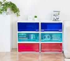全新儲物箱   (45*42*19CM)  藍色w4904