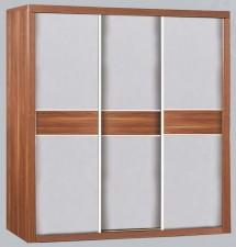 廠家直銷 全新 5尺/6尺 淺胡桃色/卡其色衣櫃 (E1級環保板材) #WP03KW60 / WP03KW72 (包送貨及安裝)