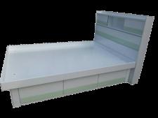 廠家直銷 全新 2尺半/3尺/3尺半/4尺/4尺半/5尺 頭箱油壓床 #G-01 (包送貨及安裝)