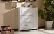 全新烤漆鞋櫃(6種規格)白色w097