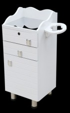 全新儲物櫃  (35*30*80CM) 白色w2353