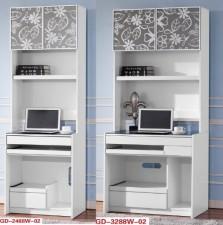 廠家直銷 全新 24吋/32吋 書枱 #GD-2488W-02/GD-3288W-02 (包送貨及安裝)