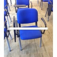 新款會客椅連扶手及寫字板 C-CE074