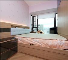 訂做傢俬,自訂尺寸 雙人床 H-595 (歡迎報價)