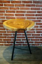 全新 印尼出產 雨木咖啡桌 (手工製造) YOG-419