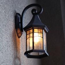 全新壁燈  (19*17*35CM)黑/咖啡色w1745