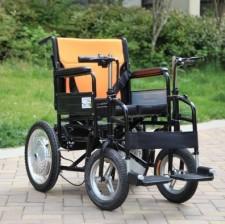全新電動輪椅  (45*110*91cm) 黑色w2782