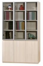 廠家直銷 全新  新款橡木色書柜系列  47.3*15*78'' #HH-383-316+318 (包送貨及安裝)