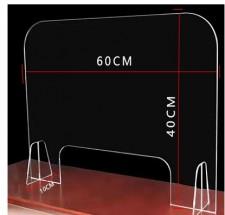 防疫隔板 (可訂做尺寸) w5974