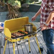 全新燒烤爐  (58*30*62CM)黃/橙色w1658