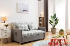 兩座位布藝梳化床  1500W×900D×900H#3021