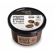 Organic Shop Body Scrub_Brazilian Coffee 250ml (#C132)