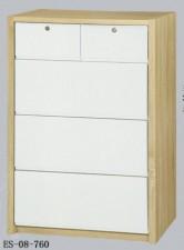 廠家直銷 全新 30吋白橡木+白色五斗櫃 30*16*47