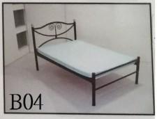 全新單人鐵床 3尺/4尺/4尺半 (#DC-5236/5248/5255)-訂貨3星期