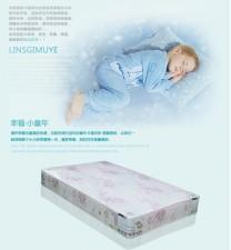 全新床墊(120*190/120*200cm)粉紅色w563
