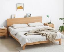 全新 橡木單人床/雙人床 w5683