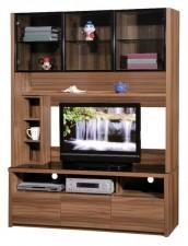 廠家直銷  新款淺胡桃木色組合柜系列 #HH-686-205+210 (包送貨及安裝)