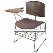 新款彩色膠椅連層架及寫字板 C-CE078