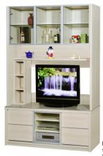 廠家直銷 全新 新款 玻璃組合柜  60.3*16*80'' #HH-383-308+310 (包送貨及安裝)