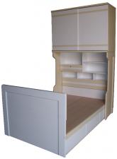 廠家直銷 全新 3尺/3尺半/4尺 直櫃床 (大量款式) #C-01 (包送貨及安裝)