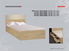 廠家直銷 全新 3尺/3尺半/4尺/4尺半/5尺 單人床/雙人床 #WP01BW (包送貨及安裝)