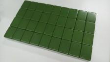 綠色麻雀 4.5cm*2.5*1.2cm #1902036a (冇花, 可用於電動麻雀機)