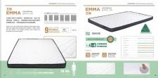 廠家直銷 全新 (2尺半至5尺) 艾瑪 4吋 壓縮乳膠床褥 #Emma 21FC-01 (特快送貨)