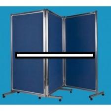 全新W型三合一雙面布面展覽板(每三件為一組,亦可作獨立使用)  #B-FC018