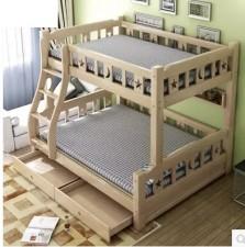 全新 上下層床架  木色 w5029