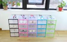 全新儲物盒(6個)   (29*21*12CM)  彩色w4893