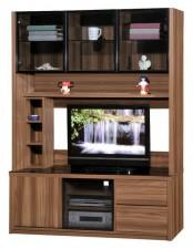 廠家直銷  新款淺胡桃木色組合柜系列 #HH-686-208+210 (包送貨及安裝)