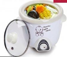 全新BB煲湯煮粥鍋(0.7L)白色w415