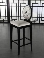 全新中式吧椅  (40*41*113cm) 黑色w2643