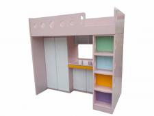 廠家直銷 全新 2尺半/3尺/3尺半/4尺 組合床 #D-04 (包送貨及安裝)