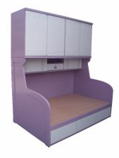 廠家直銷 全新  2尺半/3尺/3尺半/4尺 橫衣櫃床 (大量款式) #B-01 (包送貨及安裝)