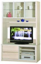 廠家直銷 全新 新款 玻璃組合柜  48*16*80'' #HH-383-301+302 (包送貨及安裝)
