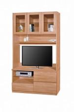 廠家直銷 1200x400x2030mm 櫸木色組合柜 #HH-826-204+209 (包送貨及安裝)