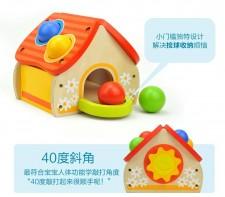 全新0-3歲打樁台兒童玩具 (12.2*11.3*13.7CM)  彩色w1089