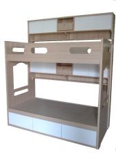 廠家直銷 全新 2尺半/3尺/3尺半/4尺/上3尺下4尺 吊架雙層床 (大量款式) #A-01  (包送貨及安裝)